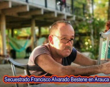 Gobierno Departamental ha ofrecido hasta 30 millones de pesos de recompensa por información que suministre el paradero y los responsables del secuestro de Francisco Alvarado