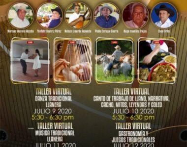 """A conocer el llano, Primer Encuentro """"Taller de prácticas tradicionales – Volviendo a Nuestras Raíces"""" desde hoy 9 de julio"""