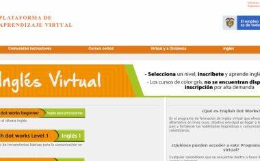 El Sena abrió su convocatoria para el programa de formación de inglés virtual English Dot Work