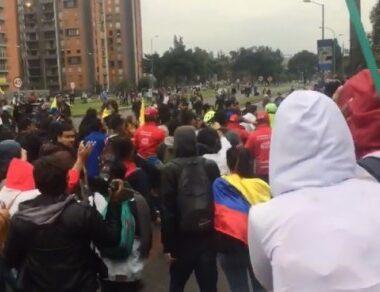 """Protestas """"21-S"""" en Colombia, rechazo a los hechos de violencia que se han dado en el país"""