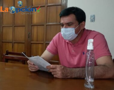 Administración Municipal queda en una situación difícil por la no aprobación de los proyectos en el Concejo, expresa el alcalde Aníbal Mendoza