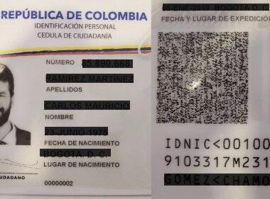La cédula digital, expedida por la Registraduría Nacional, empezará a regir en noviembre y será un nuevo sistema de identificación que se tendrá en el celular