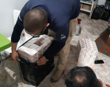 12 millones de pesos en mercancía fueron incautados por el Grupo Operativo de Anticontrabando y la Policía Fiscal y Aduanera