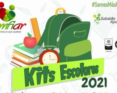 Más de 10 mil kits escolares entregará Comfiar a los hijos de trabajadores afiliados a la Caja entre los 5 y 15 años