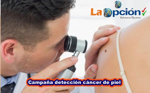 Inscripción hasta el 5 de febrero en la campaña para detectar cáncer de piel en personas mayores de 40 años en el Departamento de Arauca
