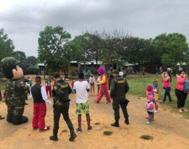 Ejército Nacional realizó jornada de apoyo al desarrollo en el municipio de Tame, Arauca