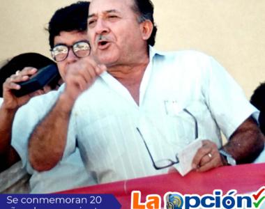 Se cumplen 20 años del asesinato del Dr. Octavio Sarmiento Bohórquez