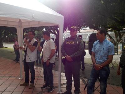 Iniciamos a tomar acciones para tener un orden en el parque general Santander, expresó el Secretario de Gobierno