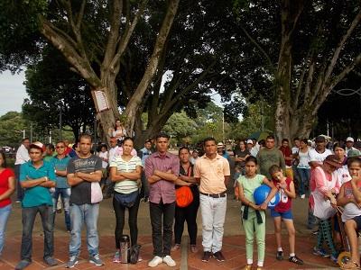 Autoridades de Tame adelantaron operativo preventivo a los vendedores del Parque General Santander