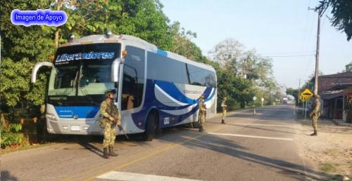 Secuestrado y asaltado un bus de la empresa Libertadores en la ruta Arauca – Bogotá, por indígenas en inmediaciones del Centro Poblado de Betoyes