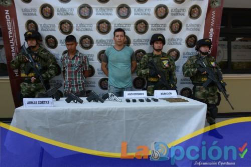 """Alias """"Andrés"""" ex – integrante de las extintas Farc durante siete años, perteneció a la zona veredal Martín Villa y continuaba delinquiendo, fue capturado"""