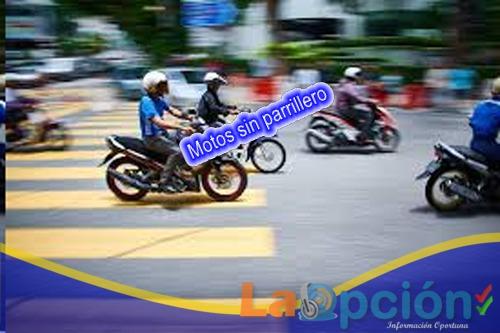 Prohibida circulación de parrillero hombre en motocicleta y venta de bebidas embriagantes en la Cuna de la Libertad