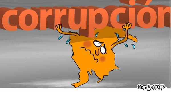 Alarmante corrupción en el país: roban mil millones de pesos cada hora