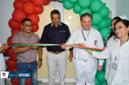 Gobernador entregó nuevas instalaciones de UCI al hospital San Vicente de Arauca E.S.E.