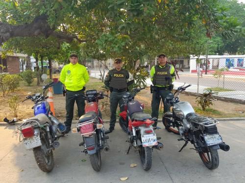 En Arauca, decomisan motocicletas procedentes de Venezuela sin documentación legal