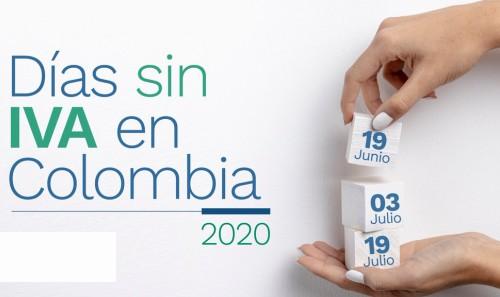 Mañana será el primer día sin IVA en Colombia. Conozca aquí la ...