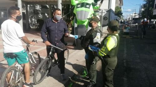 Campaña de prevención en Arauca para evitar el hurto de bicicletas