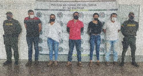 Por incumplir la medida sanitaria en el municipio de Tame, fueron capturadas 5 personas