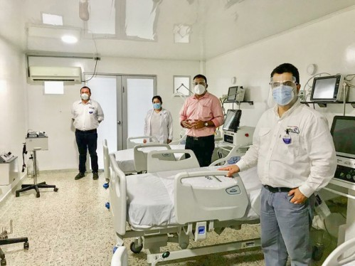 Ecopetrol y Occidental donaron equipos médicos al Hospital San Vicente