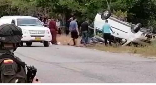 En aparatoso accidente pierde la vida un hombre y resultan otros dos heridos