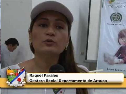 La gestora social del Departamento Raquel Parales Velásquez, en la vereda El Corozo anunció que con jornada de salud celebrará el Día de la Niñez