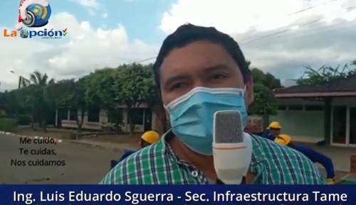 Renuncia al cargo como Secretario de Infraestructura el Ingeniero Tameño Luis Eduardo Sguerra