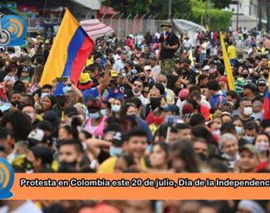 Se prepara nueva marcha en Colombia este 20 de julio Día de la Independencia